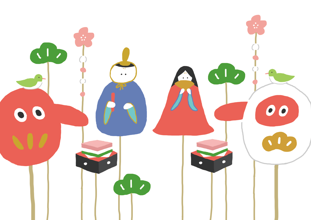 浜松天狗屋のひな祭りの画像